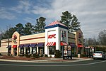A Taco Bell/KFC unit on Airport Boulevard in Morrisville, North Carolina.