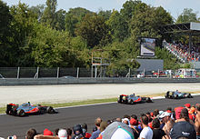 Photo de Michael Schumacher à Monza en 2011