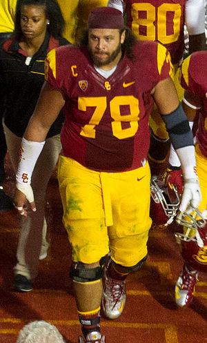 Khaled Holmes - Holmes playing in his last season at USC.