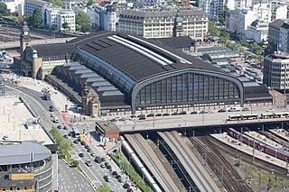 Hamburg Hauptbahnhof Main railway station of Hamburg