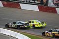 2013 Elko Speedway ARCA Mason Mingus and Frank Kimmel.jpg