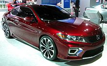 2013 Accord Coupé Concept