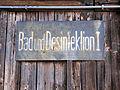 2013 KL Majdanek Baths and Gas Chamber - 02.jpg