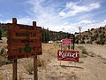 2014-07-30 13 31 06 Sign at the east entrance to Manhattan, Nevada.JPG