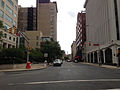 2014-08-30 10 48 14 View east along West State Street at Barrack Street in Trenton, New Jersey.JPG