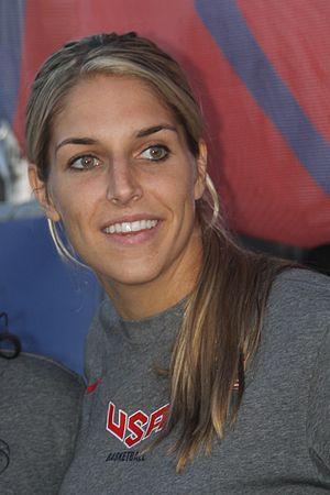 Elena Delle Donne - Delle Donne at the 2014 World Basketball Festival