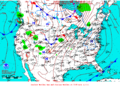 2015-10-19 Surface Weather Map NOAA.png