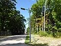 20150829 xl P1020450-LED-Strassenlampe betrieben durch Photovoltaikanlage an Europas laengster Strandpromenade zwischen Ahlbeck und Swinemuende (Swinoujscie).JPG