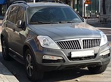2018 Diesel Suv >> SsangYong Rexton - Wikipedia