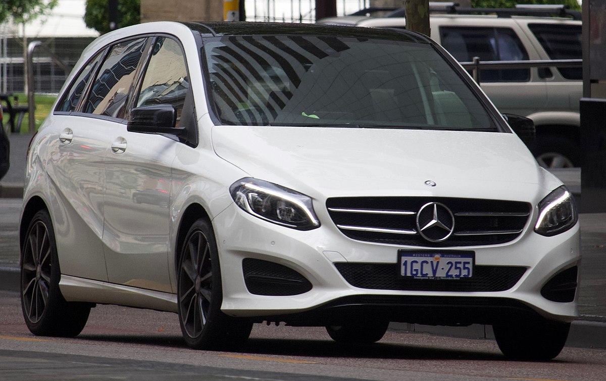 Mercedes European Delivery >> Mercedes-Benz B-Class - Wikipedia