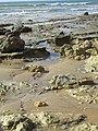 2018-01-07 Tide pools on Praia Maria Luisa, Albufeira.JPG