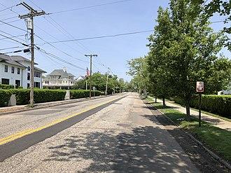 Allenhurst, New Jersey - Route 71 in Allenhurst