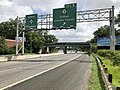 2018-07-24 11 09 06 View north along New Jersey State Route 21 (McCarter Highway) at Exit 9 (New Jersey State Route 3, Clifton, Lincoln Tunnel) in Clifton, Passaic County, New Jersey.jpg