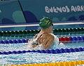 2018-10-07 Swimming Girls' 50 m Breaststroke Semifinal 1 at 2018 Summer Youth Olympics (Martin Rulsch) 13.jpg