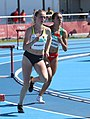 2018-10-16 Stage 2 (Girls' 400 metre hurdles) at 2018 Summer Youth Olympics by Sandro Halank–013.jpg