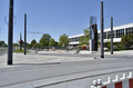 2019-05-30 Umbau Bahnhof Cottbus (new bicycle stands and remodeled station forecourt).png