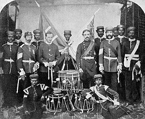 82nd Punjabis - Image: 22nd Madras Native Infantry 5 1st (4) Punjab 1861