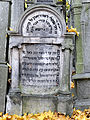 251012 Detail of tombstones at Jewish Cemetery in Warsaw - 32.jpg