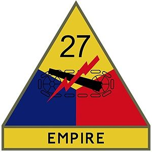Divisions of the United States Army - Image: 27th Armored Division Empire