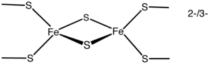 Iron–sulfur protein