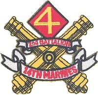 2nd Battalion 14th Marines insignia