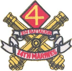 2nd Battalion, 14th Marines - 2nd Battalion, 14th Marine Regiment insignia