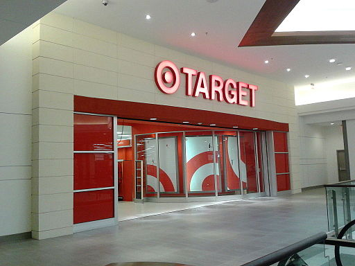 2nd floor entrance of a Target store, Springfield town center