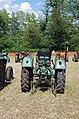 3ème Salon des tracteurs anciens - Moulin de Chiblins - 18082013 - Tracteur MAN 4L1 - 1960 - arrière.jpg