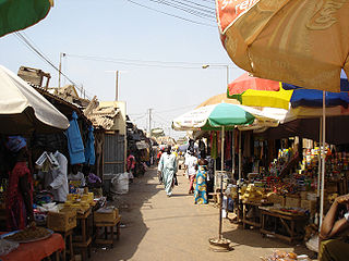 Brikama Place in Brikama Local Government Area, The Gambia