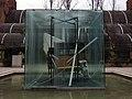 331 Homenatge a Picasso, de Tàpìes, davant l'Umbracle de la Ciutadella.JPG