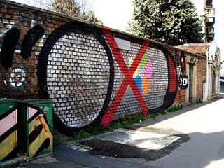 3381 - Milano - Graffiti - Foto Giovanni Dall'Orto, 23-Jan-2008.jpg