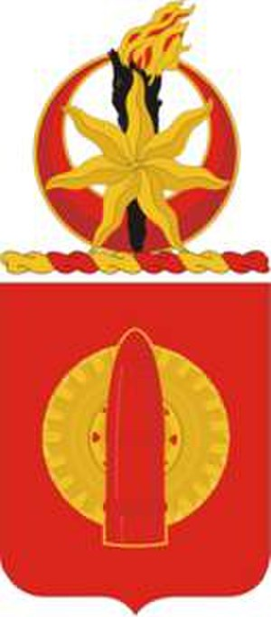 34th Field Artillery Regiment - Coat of arms