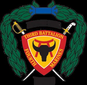 3rd Battalion, 4th Marines - 3/4 insignia