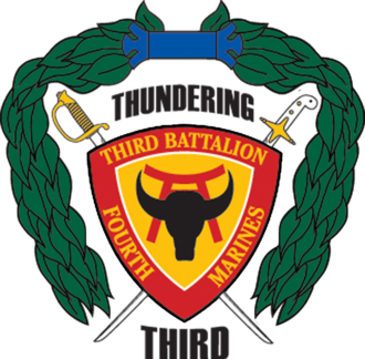 3rd Battalion, 4th Marines - 3/4 insignia