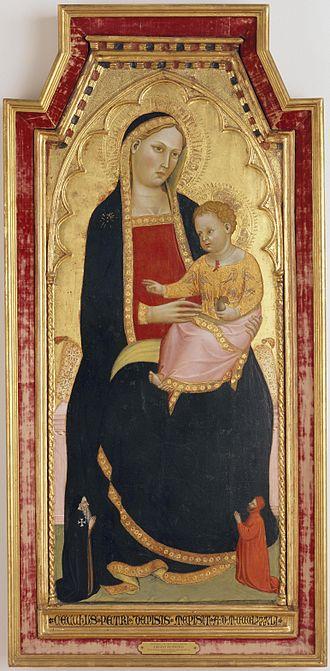 Cecco di Pietro - Image: 3 Cecco di Pietro, Madonna with Child 1386 Portland Art Museum