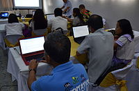 3rd Waray Wikipedia Edit-a-thon 10.JPG