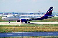 VP-BDK - A320 - Aeroflot