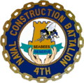 4th Naval Construction Battalion (Reserve) Unit seal.png