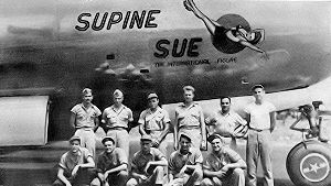 "500th Air Expeditionary Group - ""Supine Sue"", first B-29 on Saipan, November 1944"