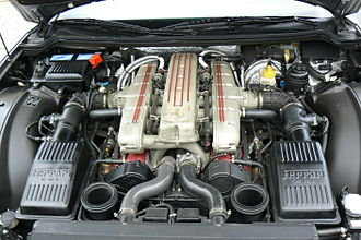 Ferrari 550 - Ferrari 550 Maranello V12 engine