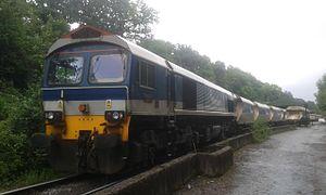 British Rail Class 59 - 59104 at Allington Sidings