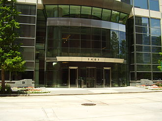 Halliburton - 5 Houston Center in Downtown Houston, which at one time housed the headquarters of Halliburton