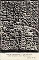 66. Cité de Carcassonne. Église Saint-Nazaire. Pierre représentant la prise de Toulouse (1240). Collections ND Phot. - FRAC31555 9Fi5667.jpg
