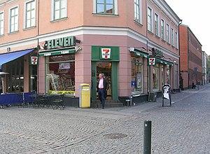 7-Eleven in Lund.