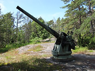 75mm 50 caliber Pattern 1892 - Image: 75 50 C Kuivasaari