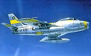 81st Fighter-Bomber Squadron - North American F-86F-30-NA Sabre - 52-4661