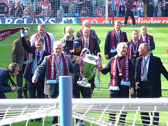 Aston Villa F.C. - The 1982 European Cup winning squad celebrate the 25th anniversary of their win.
