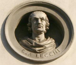 Giovanni Antonio Lecchi Italian mathematician and engineer
