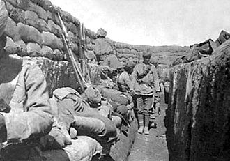 92nd Punjabis - Image: 92nd Punjabis, Mesopotamia, c. 1916