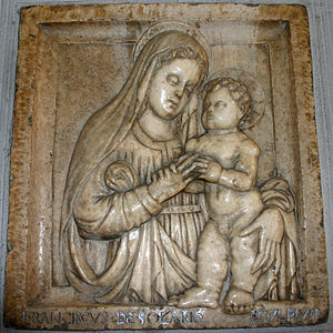 Francesco Solari - Madonna with Child, church of Sant'Angelo, Milan.